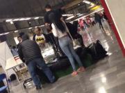 Ass jeans metro, culo de flaca
