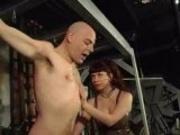 Bruce Willis lookalike gets dominated