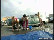 Carwash Babes Love To Suck!