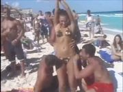 Girl Strip Beach Public Nudity Pussy Ass Tits