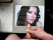 Cum on Christina Aguilera