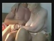 Having fun with a very old granny ! Amateur