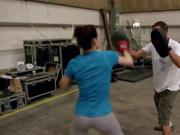 Daisy Ridley working out - GREAT butt shots!