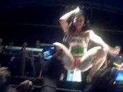 Bodypaint dance on stage cam in audiance