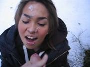 Frozen cumshot