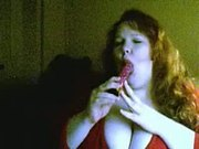 Fat Girl Gagging With Audio...