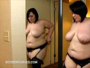 Hot Plump Alexxxis Allure dressing for action