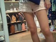 candid pink shorts