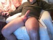 MATURE MAN PLAYING ONLY FAT COCK