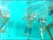 Sexy Underwater Bikini Asses