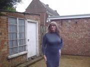 CD in a dress