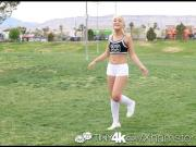 Tiny4K - Hot soccer playerfucks blonde Cleo Vixen