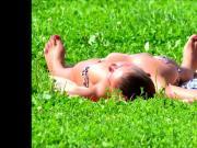 SpyCams Rus Voyeur Public park Flash Girls