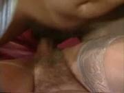 White hair and short hair grany fucking