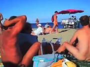 Blowjob at the public beach at Cap d Arg