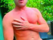 Masturbating Turkey-Turkish Hunk Kaan Jacks Off Outdoor