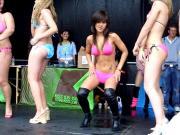 bikini girls dance off