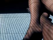 Nylons, smooth legs and shadows