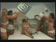 Footfetish brazil 5 girls