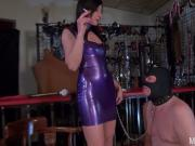 faceslapping my pig slave!