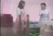 Asian girl stripping on medical exam