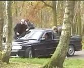 French slut in parkin lot