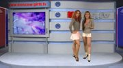 russian Moskow girl TV Julia and Olga Barz