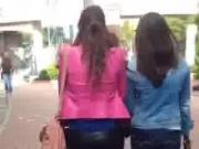Asian milfs walking like a dim sum lady
