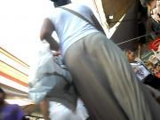 balzaca rabuda crente de saia longa na rua