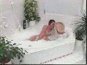Lesbian in Bathroom (not Porn)