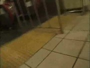 Drunk Collegegirl blowjob in Public 1