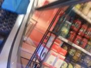 Shopping upskirt