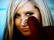 Ashley Tisdale cum on 6