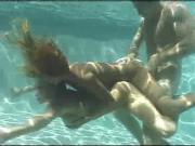 3some underwater!