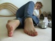 belle branlette de pieds