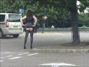 Plugged and knickerless flashing in a town centre car park