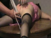 Naughty wife being spanked pt3