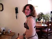 HUBBY MAKES WIFE CALL UP GUY OFFER SLAVE BLOWJOB