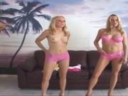 BBC Fake Cops dupe Dumb-Blonde Sisters