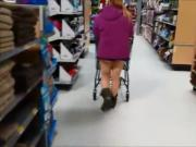 Exhibitionist at the supermarket