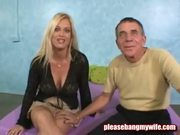 Big Breasted MILF Gets Stripped