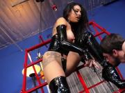 Mistress Tangent and Cybill Troy Tangent s Boot Licking