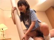 Cute japanese high school girl