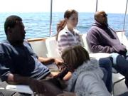 great interracial on a boat