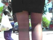 Jupe tailleur bas