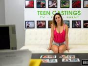 Young busty teen squirts and gets spanking and brutal sex