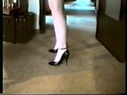 SAG - Red Costume White Bra Stockings Black Pumps