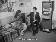Office Clerk Tries to Find Love 1960s Vintage