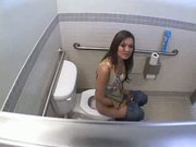 Sex in womens toilet