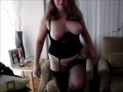 spanking skirt video